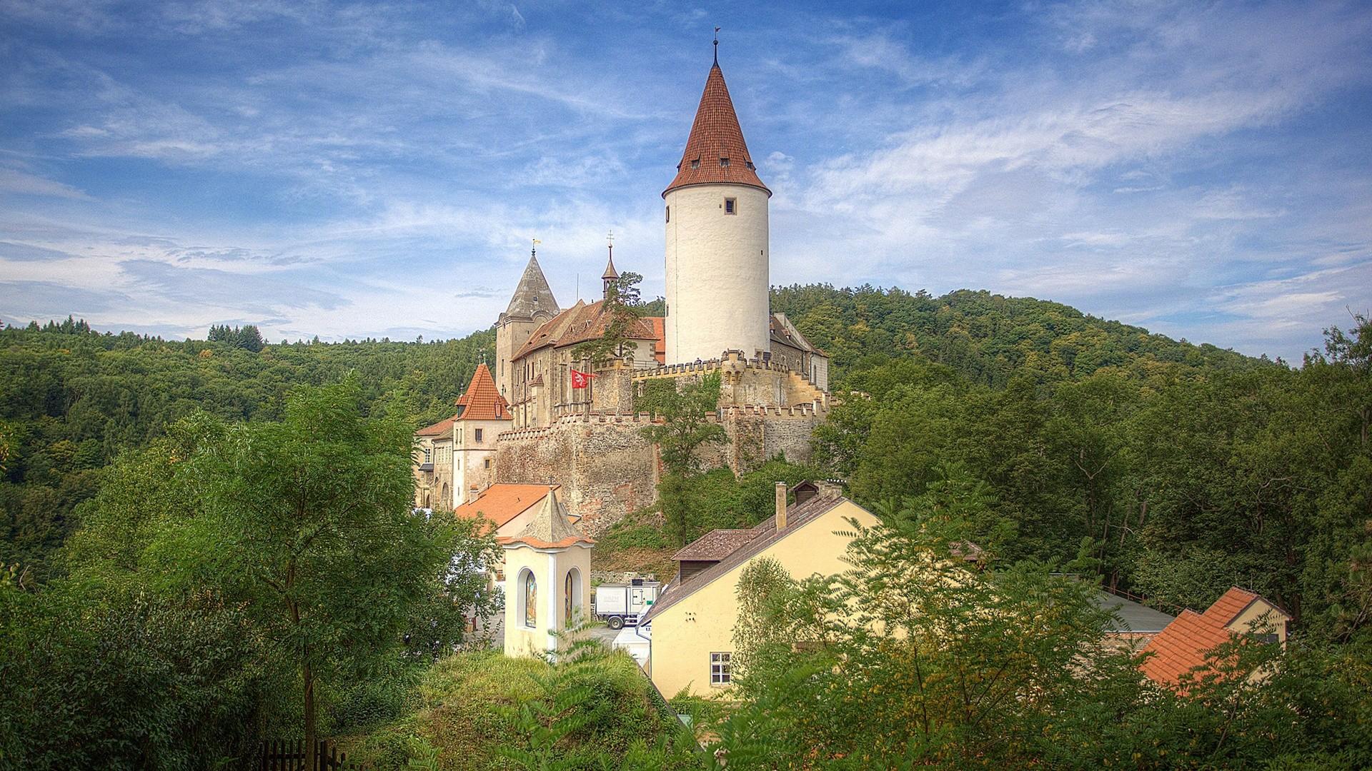 Křivoklát, um castelo medieval na República Checa